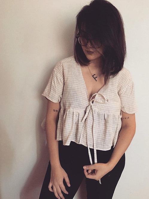 Camisa upc beige