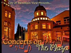 2017 Concert on the Plaza Mountain View.