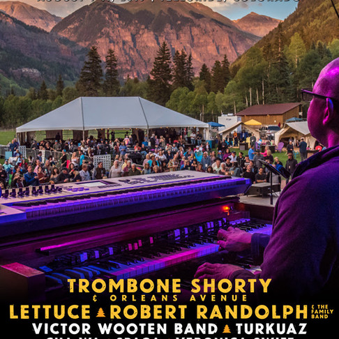 Trombone Shorty & Orleans Avenue Heading to the 43rd Telluride Jazz Festival