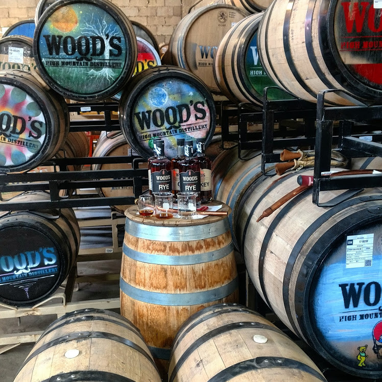 Wood's High Mountain Distillery Salida Colorado