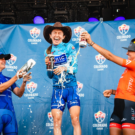 The Future is Female for the Colorado Classic Cycling Race