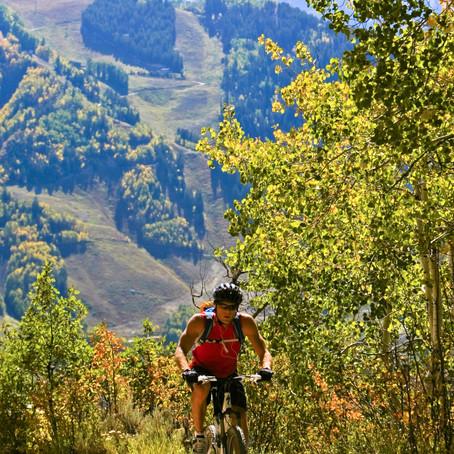 Colorado mountain biking: september