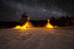 stars and tipis winter by matt collins.j