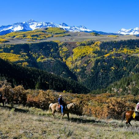 Pony Up: Seeing Colorado's Fall Foliage on Horseback