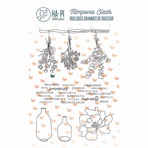 Tampons clear Jolis bouquets