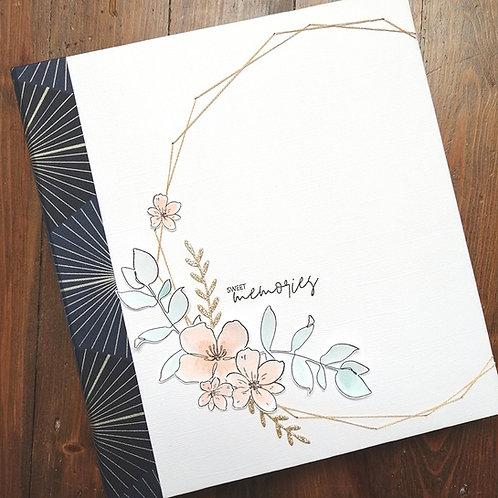 Tutoriel seul -Atelier en ligne Sweet Memories