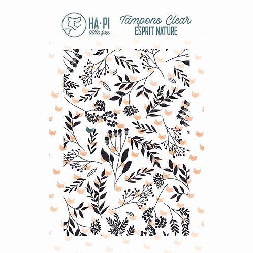 Tampon clear Fond champêtre