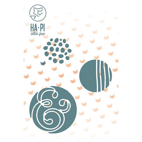 Matrices de découpe Petites bulles