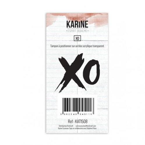 Tampon clear XO Les Ateliers de Karine