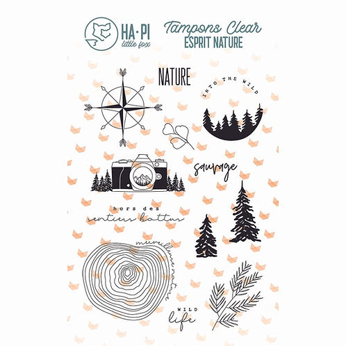 Tampons clear Nature sauvage