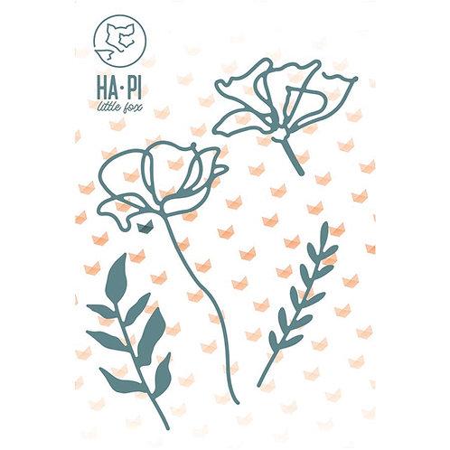 Matrices de découpe Fleurs et feuillages