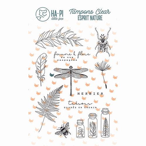Tampons clear Herbier