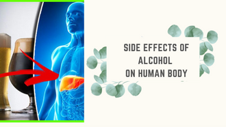 Side effects of alcohol on human body