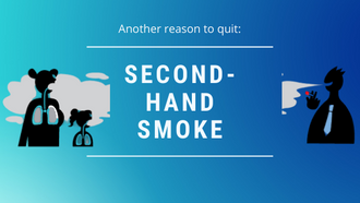 Another reason to quit: Second-hand smoke