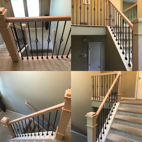 Carpentry (Staris and Wood railing) NJ