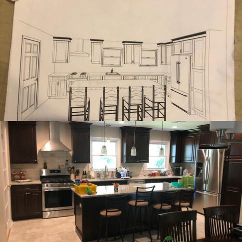 Kitchen Remodel, Morrisplains, NJ