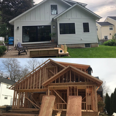 New Addition Before and After New Provid