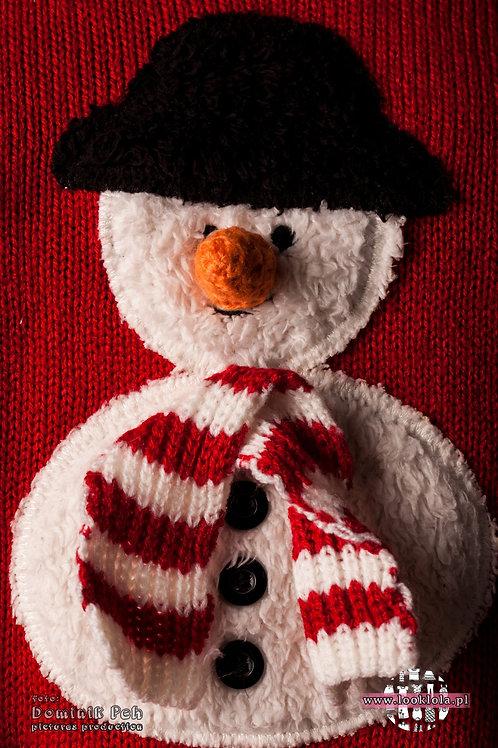 Sweter z bałwankiem