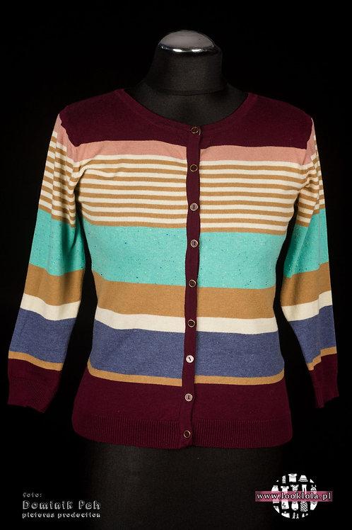 Sweter w paseczki