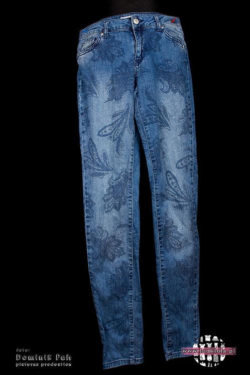 Spodnie ze wzorem