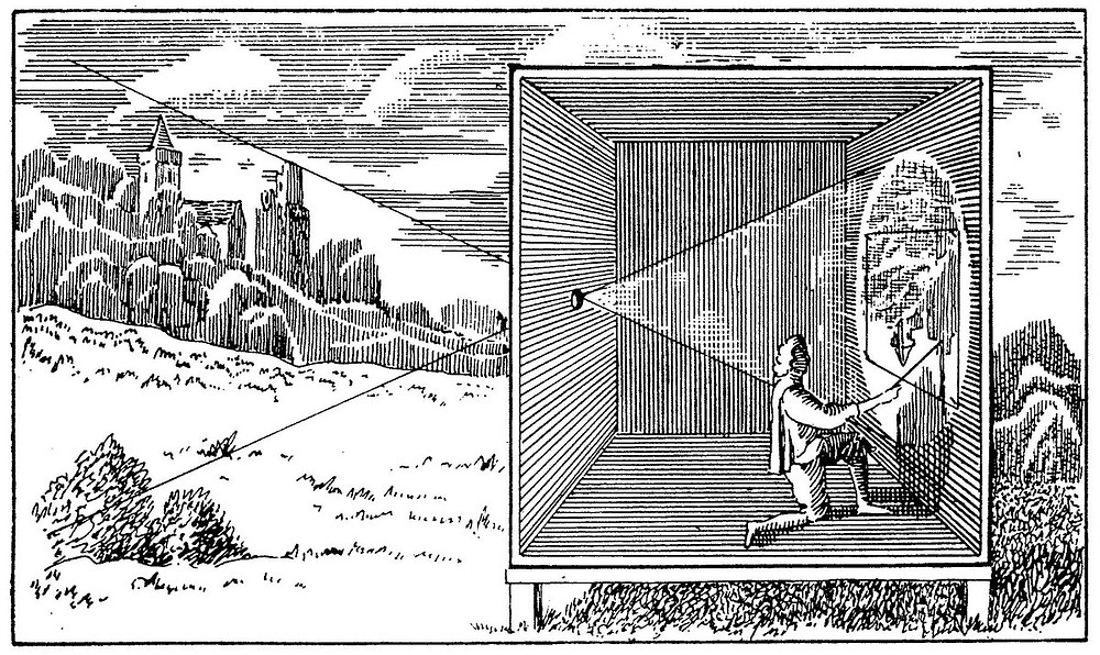 Camera Obscura w przekroju