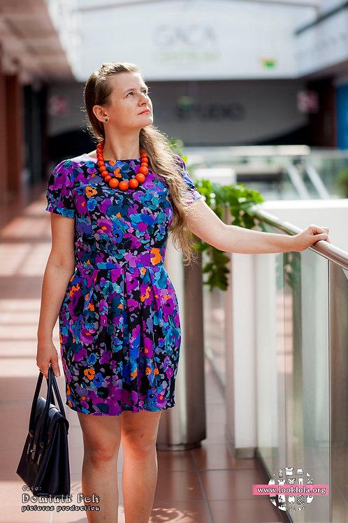 Uniwersalna sukienka codzienno-wizytowa