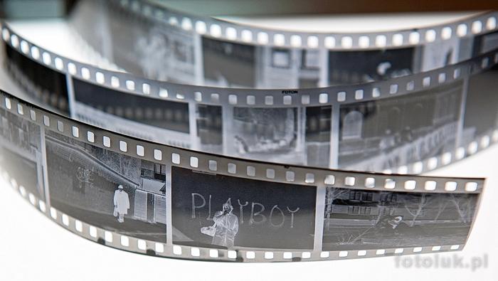 klisza, film, błona - analogowe elementy światłoczułe