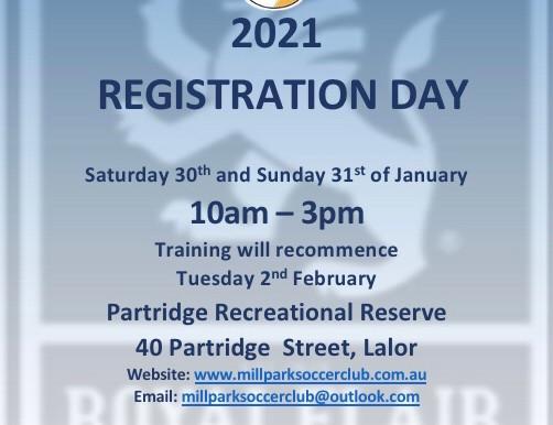 2021 Registration Day