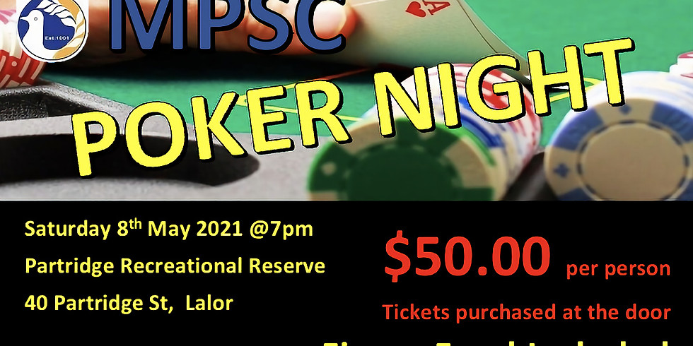 MPSC Poker Night