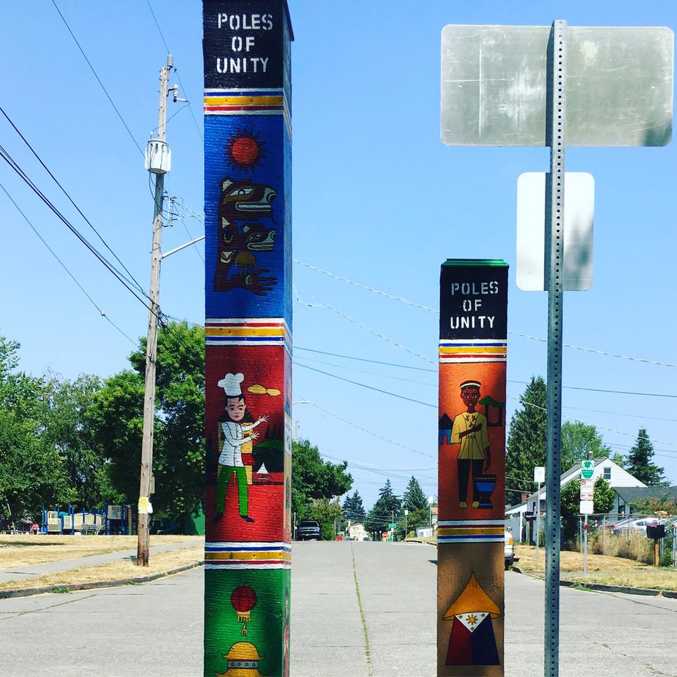 Poles of Unity