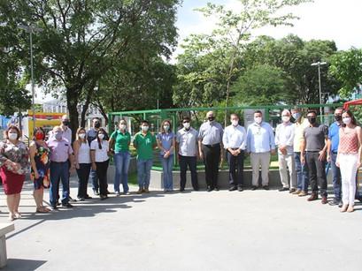 Inauguração da Praça dos 17 ODS
