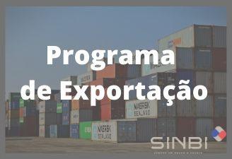 Sinbi inicia Programa de Exportação com Marca Coletiva