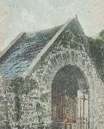 174 - Postcard - Lych Gate, Blackford