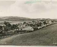171 - Postcard - Blackford from the Churchyard