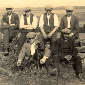 097 - Workers at Sharp's Farm Bardrill 1921