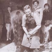 202 - George Keir at Smiddy