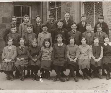 109 - Blackford Primary School 1934-35