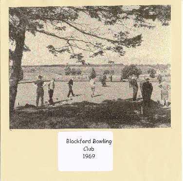 105 - Blackford Bowling Club 1969