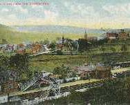 170 - Postcard - Blackford from the Churchyard