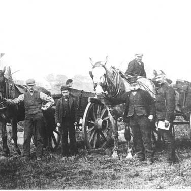 035 - Carters with Black Watch Territorials - 1914