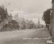 159 - Postcard - Moray Street looking East