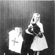 040 - Collecting for wounded, Games Park 1918