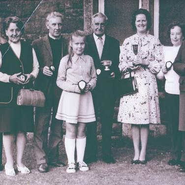 210 - Blackford Flower Show Prizewinners 1970s