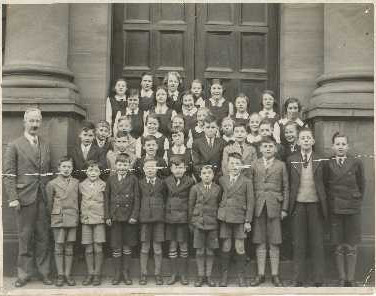 122 - Blackford Primary School c1938-39