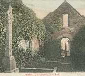 177 - Postcard - Interior, Old Church, Blackford