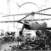 045 - Gyrocopter, Created ,Designed & built in Blackford