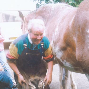 203 - George Keir at Smiddy (2)