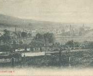 169 - Postcard - Blackford from the North