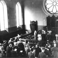 049 - Joe & Grace Rankin's wedding St Andrews Church 1948