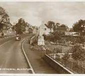 158 - Postcard - War Memorial, Blackford